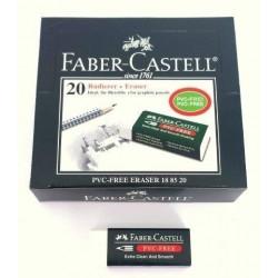 GOMA DE BORRAR PLASTICA 7085-20 FABER CASTELL