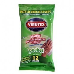TOALLAS DESINFECTANTES VITUTEX POCKET 50 UNID
