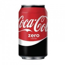COCA COLA ZERO EN LATA 350ML
