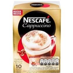 CAFE NESCAFE CAPPUCCINO 10UNx14GR SOBRE