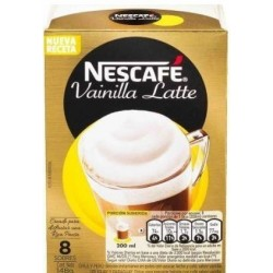 CAFE NESCAFE VAINILLA LATTE 8UNx18.5GR SOBRE