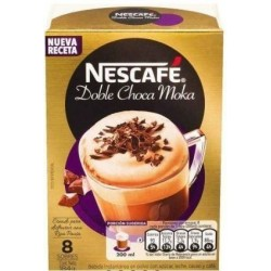 CAFE NESCAFE DOBLE CHOCA MOKA 8UNx23GR SOBRE