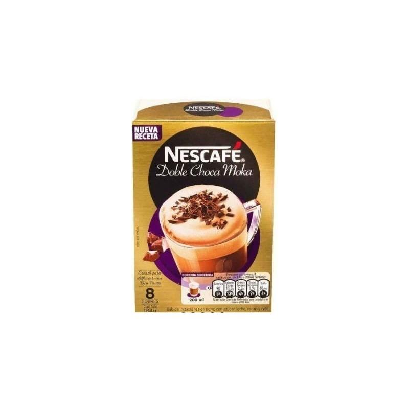 CAFE NESCAFE DOBLE CHOCA MOKA 8UNx23GR SOBRE