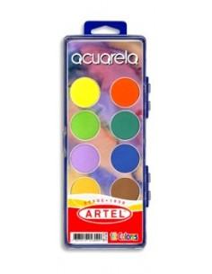 Acuarela 12 Colores Artel