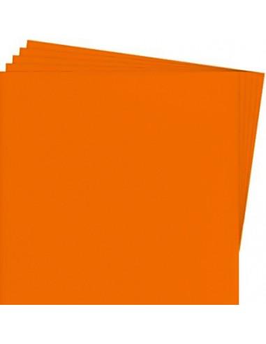 Cartulina Color 55x77cm Naranja Hand
