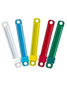 Acoclip Colores Plastico 50u Auca Ofipack