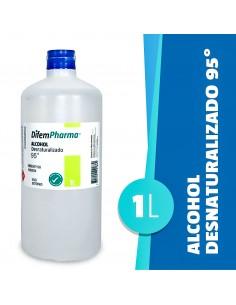Alcohol Desnaturalizado 95% 1L Difem Pharma Ofipack